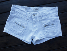 Daily specials throw cabbage, summer hot pants Short shorts female foreign trade the original single pocket zipper cotton
