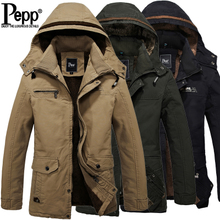 Pepp new winter leisure men's clothing to thicken the men jacket, city boy Han edition cotton winter coat