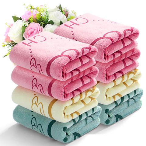 6条装超细纤维毛巾吸水面巾洗脸巾擦脸毛巾吸水毛巾情侣毛巾面巾
