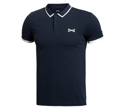 Li Ning genuine POLO shirt Men's 2014 autumn paragraph casual wear tight-fitting short-sleeved T-shirt APLJ289-1-2-3-4