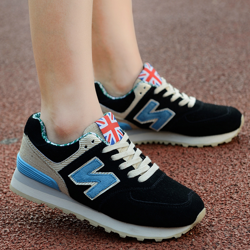 Couples shoes N word Footwear Fall sports shoes shoes n letter N Korea  Aberdeen NB Forrest 75acfb5b0f1