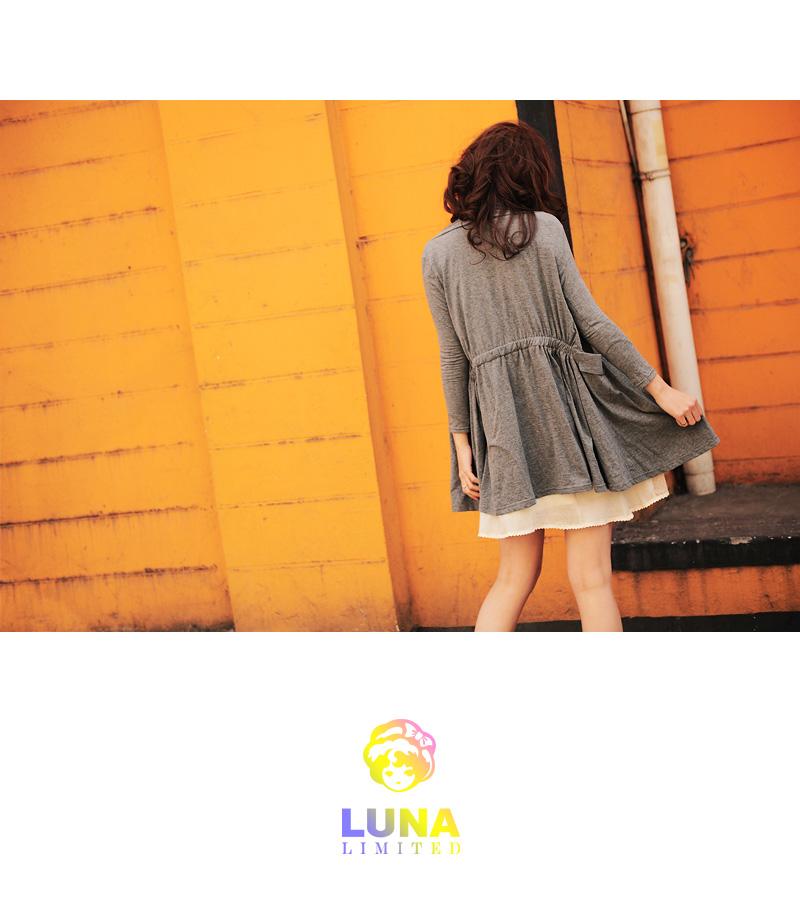 Трикотаж Luna Limited cs00241 LUNA Классический рукав Вырез лодочка
