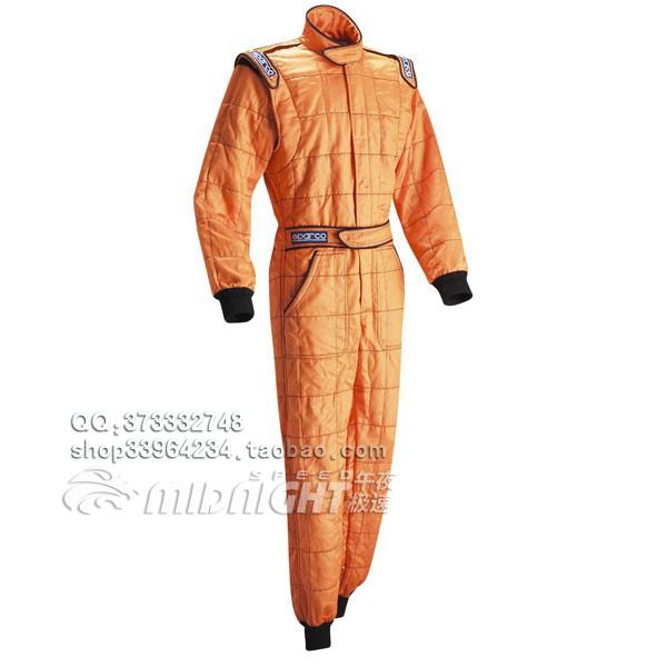 Гоночный костюм Оригинальный итальянский ФИА сертификации Sparco combinaison огнеупорные гоночные костюм синий