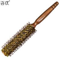 卷发梳子梨花梳滚梳内扣造型梳子防静电排骨梳子木梳猪鬃毛滚梳