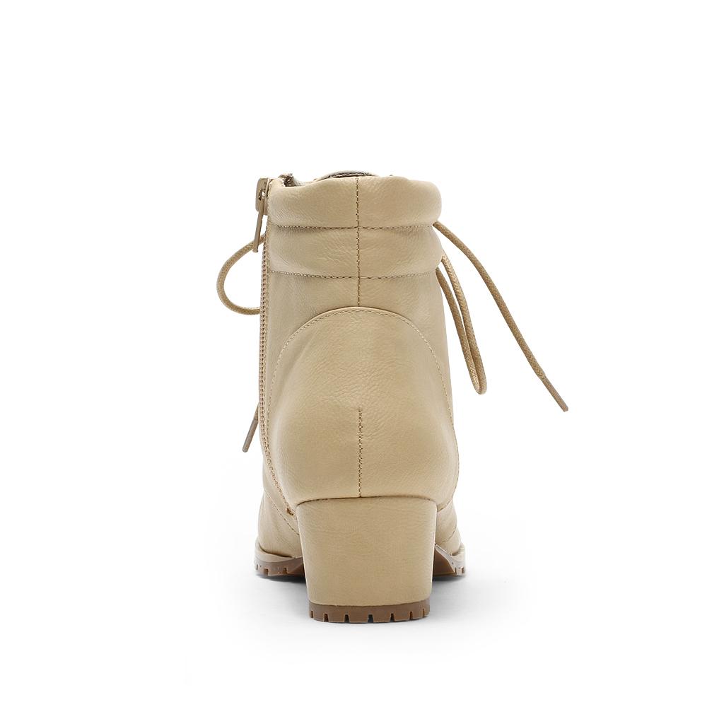 Круглый носок Широкий каблук Шнурок В с (3 -5см ) Клееная обувь Бахрома Однотонный цвет