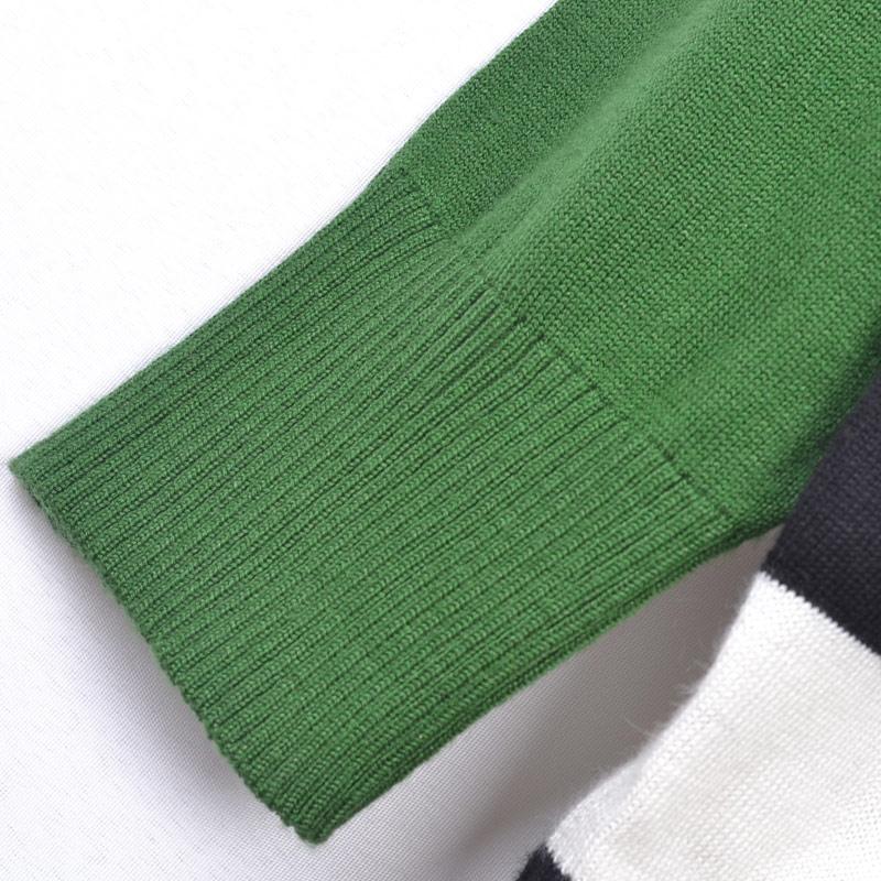 Свитер женский «Лива» подлинной Тонг Голый свадьба с полосой корейских звёзд вязать свитер сумка почта Шелк Длинный рукав Классический рукав Закругленный вырез