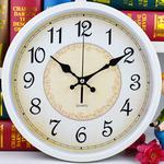 静音挂钟客厅卧室挂表创意时尚简约现代时钟卡通钟表幼儿园石英钟