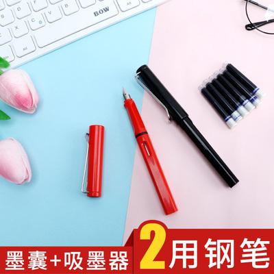 钢笔成人练字笔学生用正姿书写两用书法笔小学生自动消失褪色墨囊