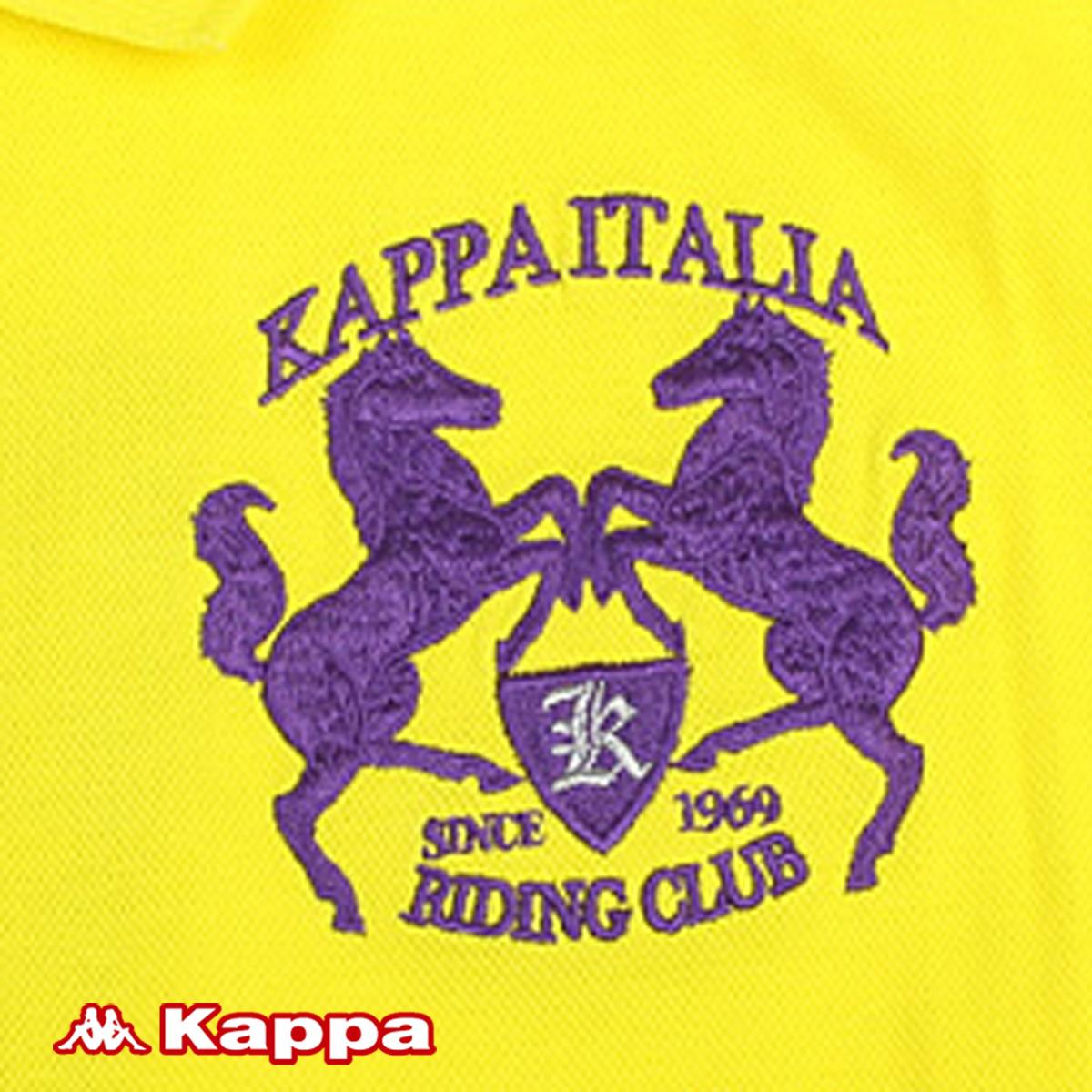Спортивная футболка KAPPA k2101pd046 /241 POLO K2101PD046-241 Воротник-стойка Короткие рукава ( ≧35cm )