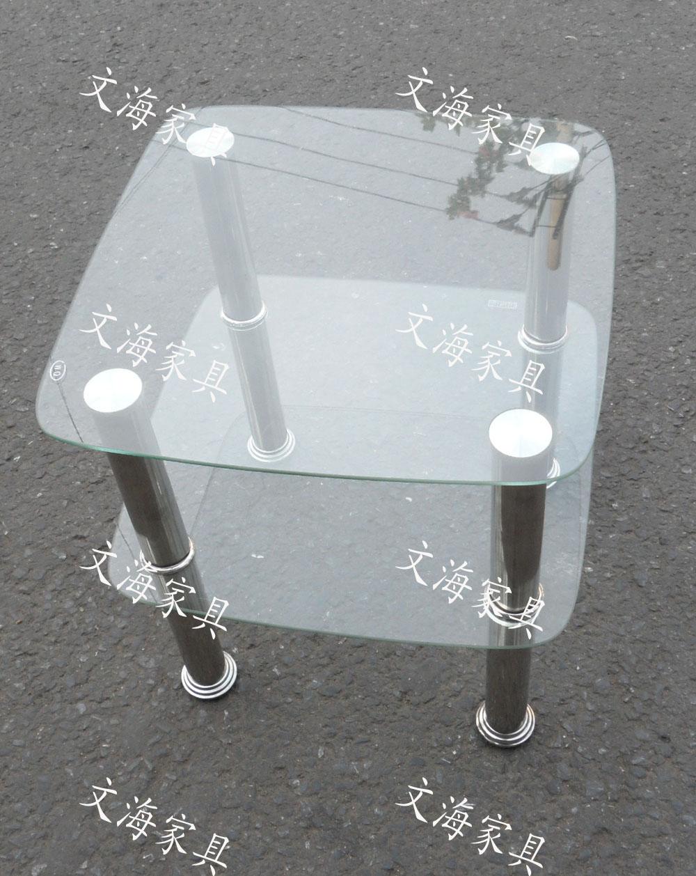 Журнальный столик Закаленное стеклянный журнальный столик