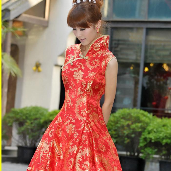 Платье Ципао Popular Bride 593 2012