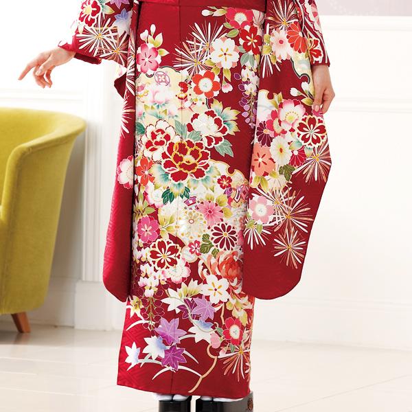 Национальный  костюм Японские дамы кимоно этап национальной бесплодной земли ручная роспись Yuzen ручка furisode Mei Ньянг