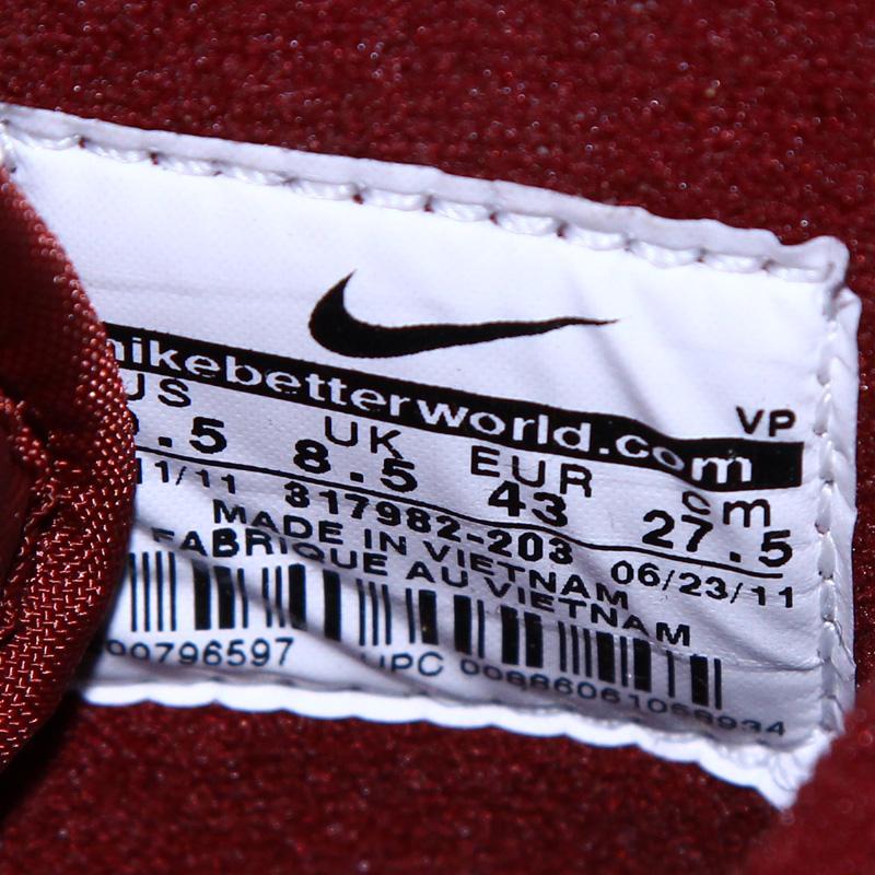 кроссовки Nike 317982/203 5.2 Dunk High 317982-203 769 Кожа быка Зима 2011 Мужские Нескользящая резина