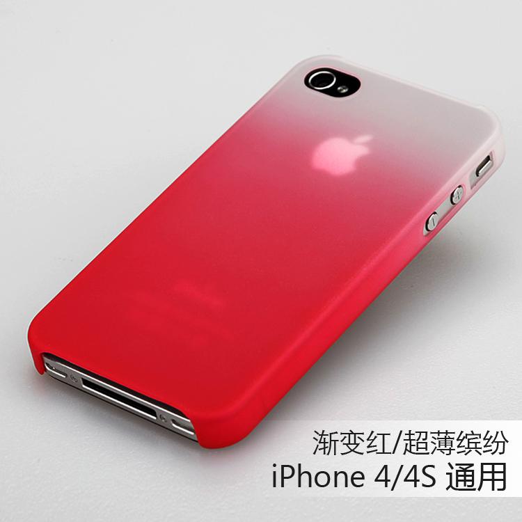 Цвет: градиент красный ( 4/4s universal)