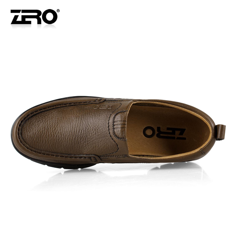 Демисезонные ботинки Zero f9946 2013 Для отдыха Верхний слой из натуральной кожи Круглый носок Без шнуровки Весна и осень