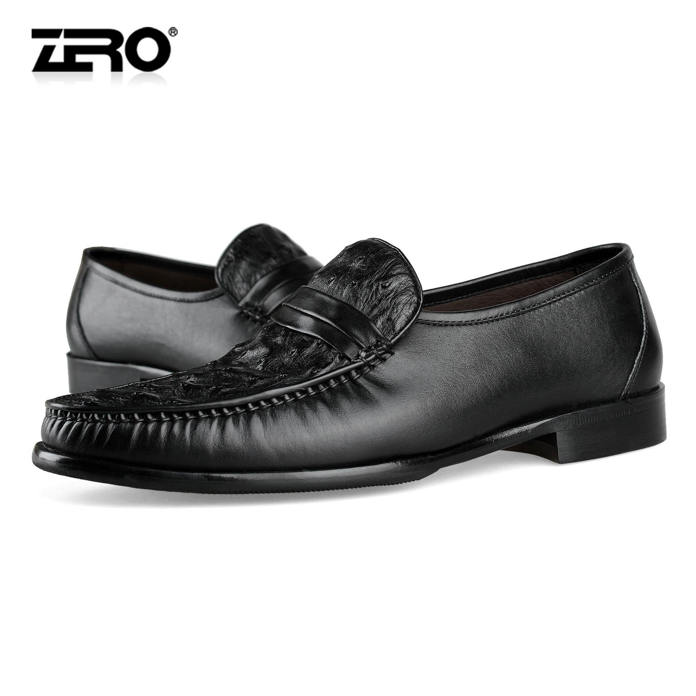 Демисезонные ботинки Zero 96037 Для отдыха Верхний слой из натуральной кожи Круглый носок Без шнуровки Весна и осень