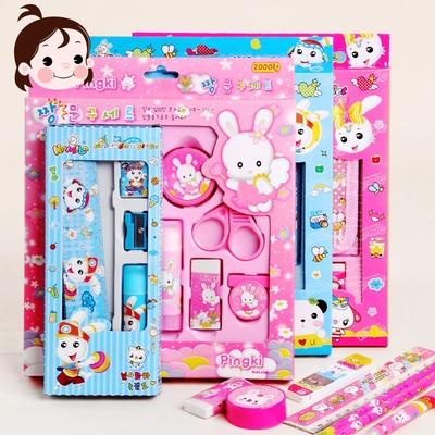 清让小学生文具套装奖品福袋礼品幼儿园学习用品儿童礼物批发礼盒