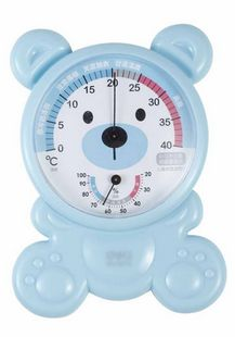 DeLi Able child thermometer hygrometer hygrometer accurate room temperature thermometer