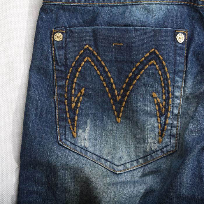 Джинсы мужские Match m5020 5020 Прямые брюки Классическая джинсовая ткань Модная одежда для отдыха 2012
