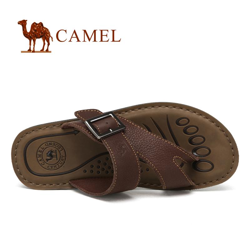 Сланцы Camel 82210602 2012 Сланцы Кожа быка Лето