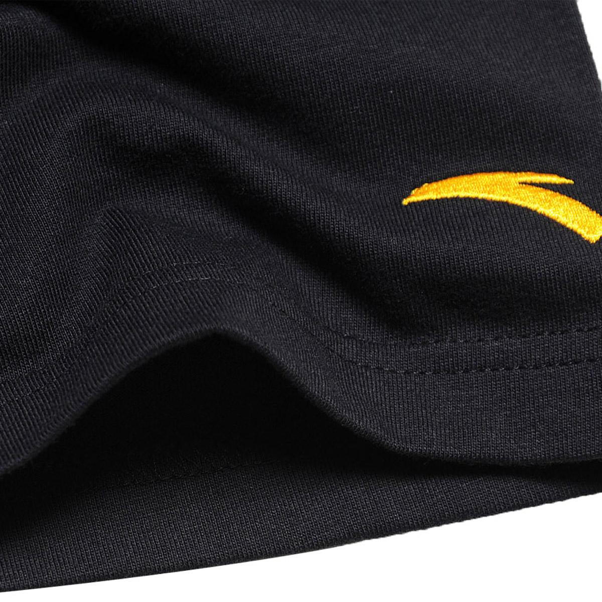 Спортивная футболка Anta 15122146/5.. 15122146-5 Закругленный вырез Короткие рукава ( ≧35cm ) С логотипом бренда