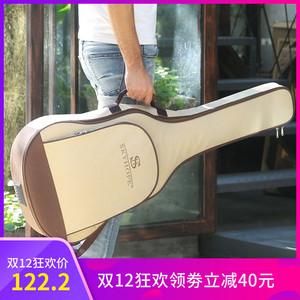 旅行民谣木吉他琴箱包盒子34/36/40/41/42寸背包款女生通用双肩盒