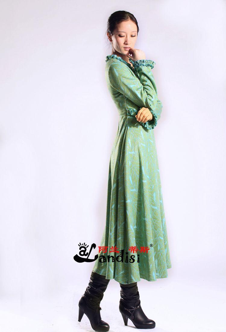Женское платье Alan Curtis qzl1669 2012 Парча