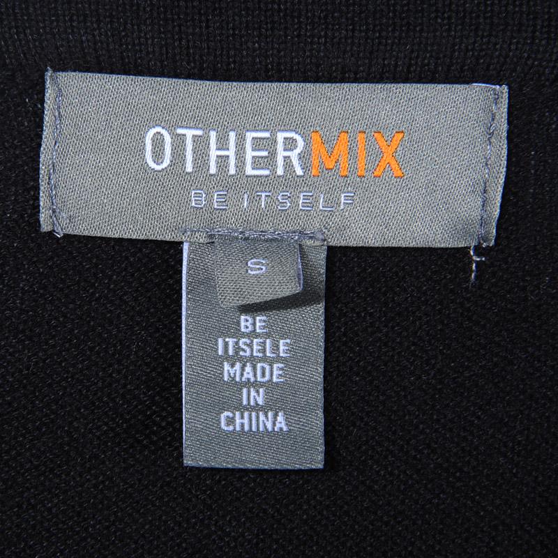 Свитер женский Othermix 02c1599 SS Хлопок Длинный рукав Классический рукав V-образный вырез