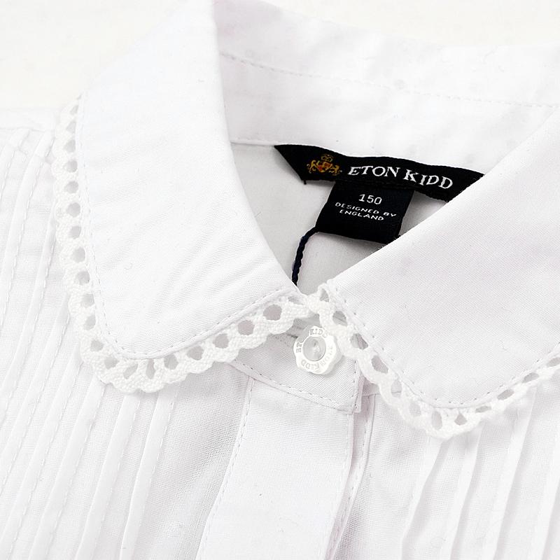 Рубашка детская Etonkidd 09c202 2013 Девочки Хлопок (95 и выше) Весна-осень Рубашка с длинными рукавами % Воротник с бортами