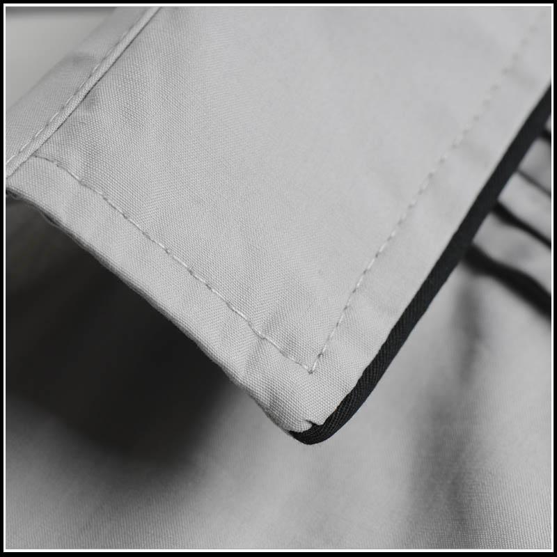 Рубашка мужская COCOC c701 Хлопок без добавок Длинные рукава ( рукава > 57см )