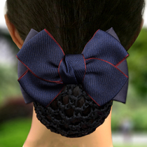 护士头花韩国 职业 可爱网兜韩国空姐优雅发饰发夹盘头发的饰品