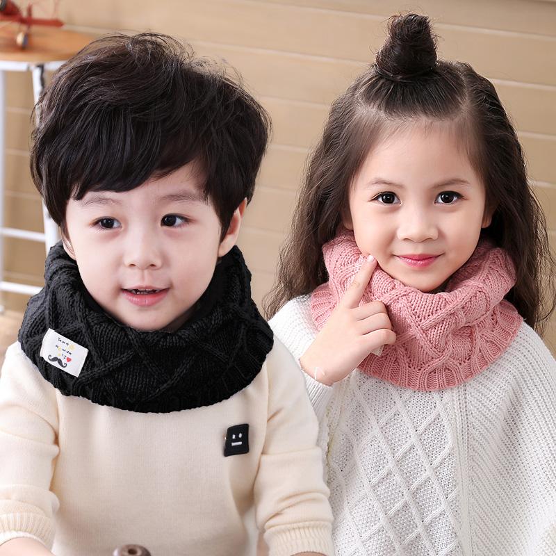 天天特价儿童围巾冬季加厚男童围巾女童保暖脖套韩版宝宝婴儿围脖