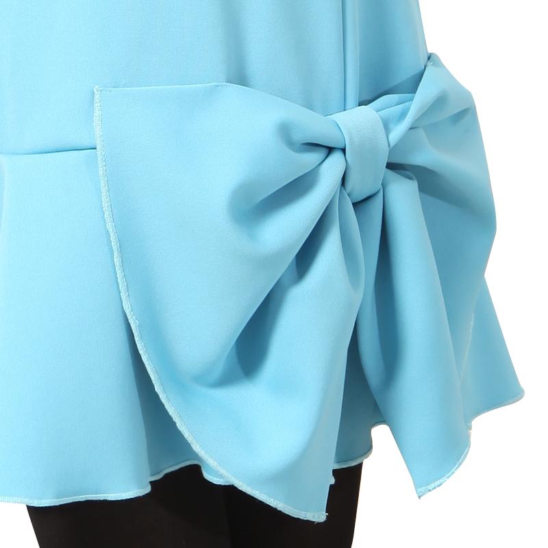 детское платье Robo 253 2013 T253 59 Плиссированная юбка Весна-осень Смешанная ткань Однотонный цвет Женственнный