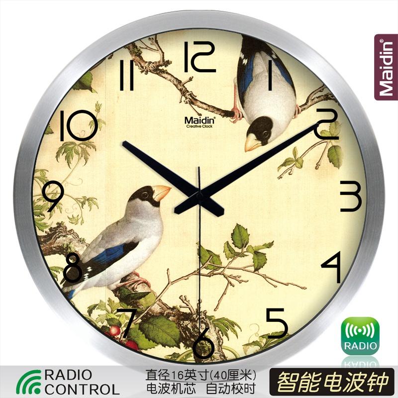 Цвет: 16 {#n46 от} радио контролируемые часы серебро-495