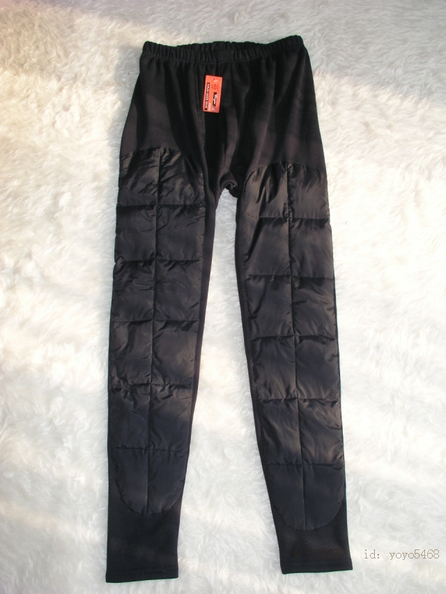 Кальсоны Рекламные ветер холодный стекаются и кашемира в колена колодки XL Мужская тепловой брюки плюс удобрения