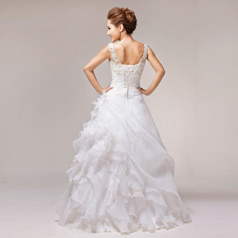Свадебное платье Pulin Si 113 Vera Wang 2012 2012 Органза Юбка-пачка Гламурный стиль