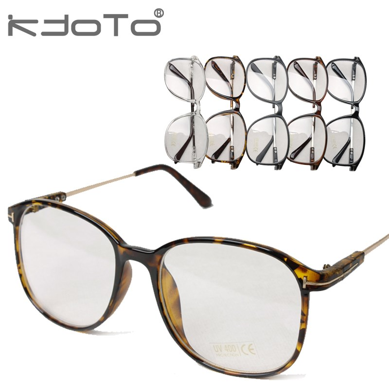 vintage transparent thin frame glasses frames myopia frame metal ...