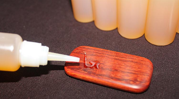 Сувениры из дерева «Деревянные играть вместе,» мебель из красного дерева wenwan орех нефть обслуживания света махагон малых DIY материалы