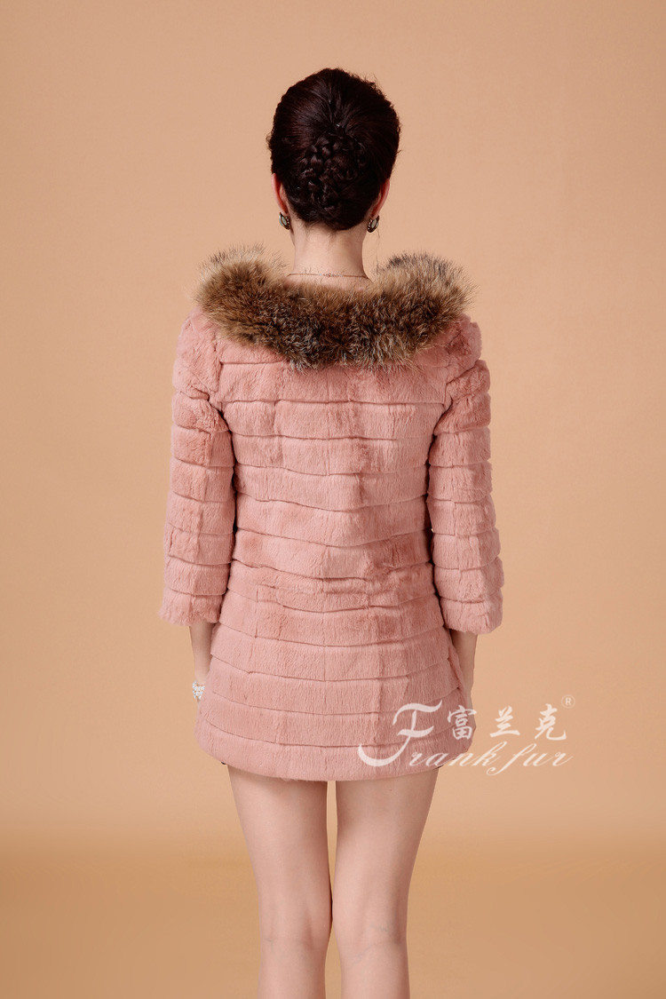 Rabbit fur coat, Frank (Frank fur) Зима 2013 Кролик