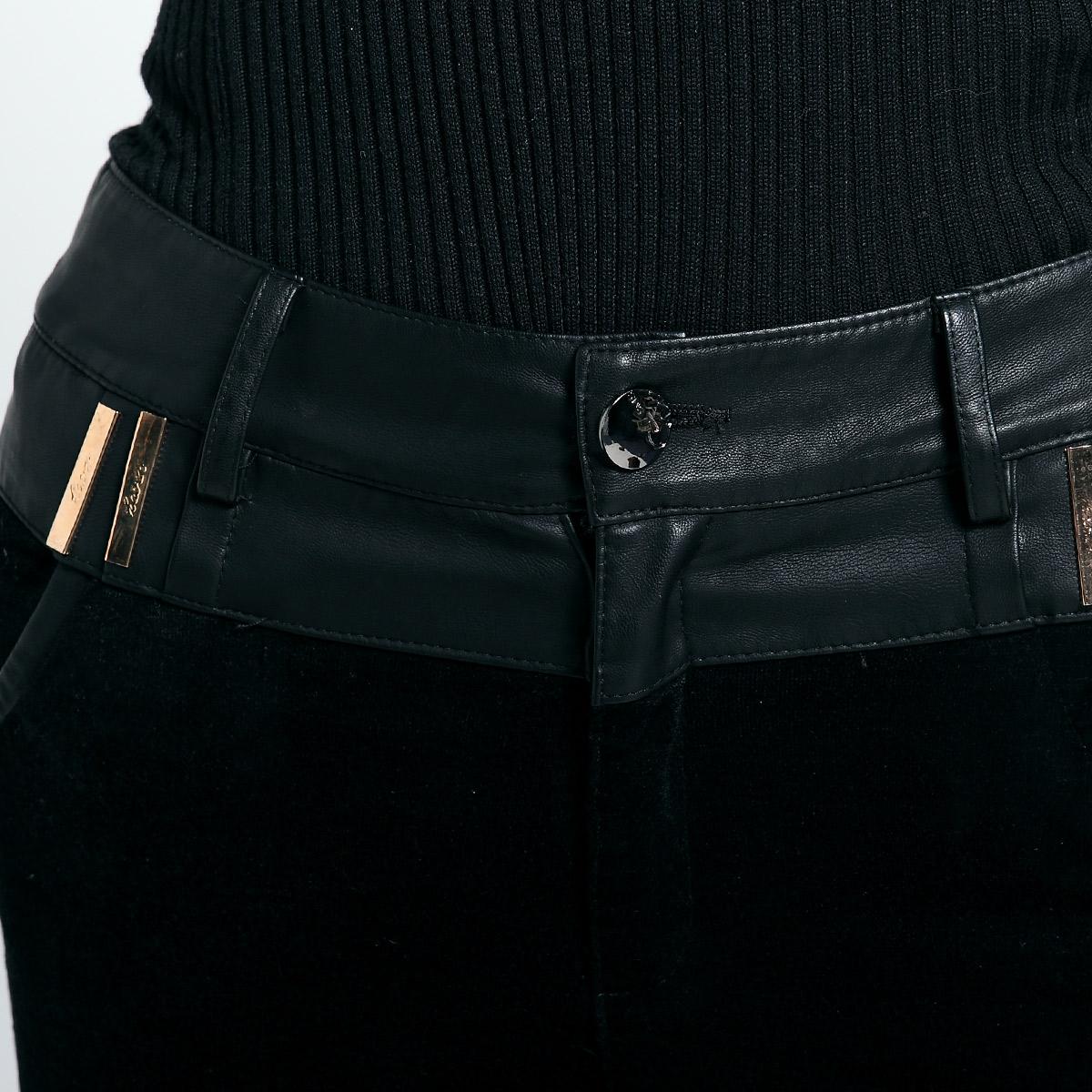 Женские брюки Xinsheng sml1067 Длинные брюки Прямые Casual Осень 2012 Другое Коллаж