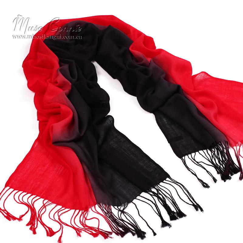 Цвет: Черный и красный градиент 7