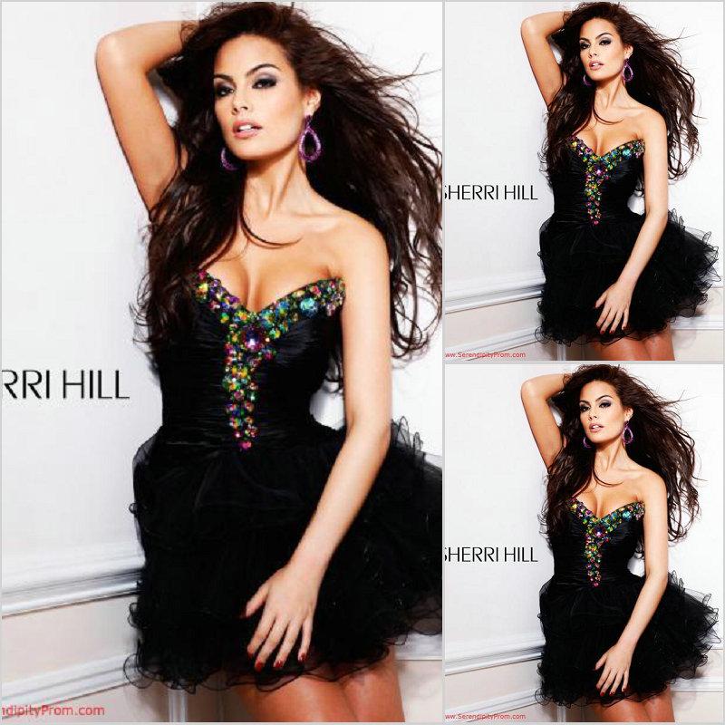 Вечернее платье Einzig SH/123 Sherri Hill SH-123 Einzig Средней длины (76-90см)