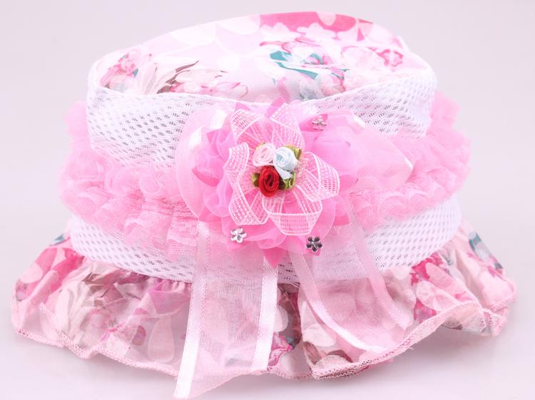 Цвет: Розовый (3 небольших сетки ведро шляпа