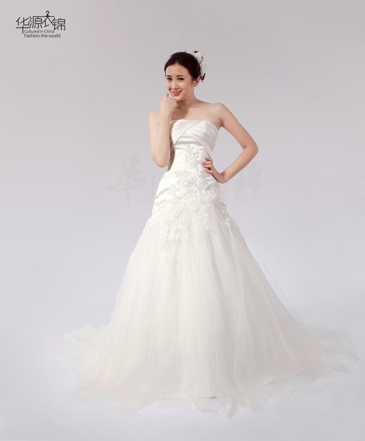 Свадебное платье Huayuan clothing Kam ah021 2012 2012 Плотная ткань Русалочий хвост Элегантный стиль