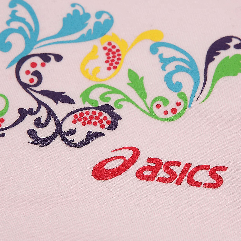 Спортивная футболка Asics xaz768/1900 XAZ768-1900 Стандартный Воротник-стойка CVC Выполнить Влагопоглощающая функция С логотипом бренда