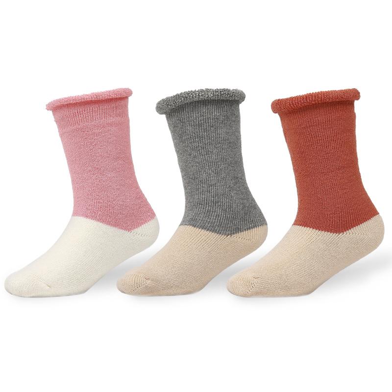 1-3岁A类92%纯棉0-3-6-12个月秋冬季加厚保暖新生儿婴儿宝宝袜子