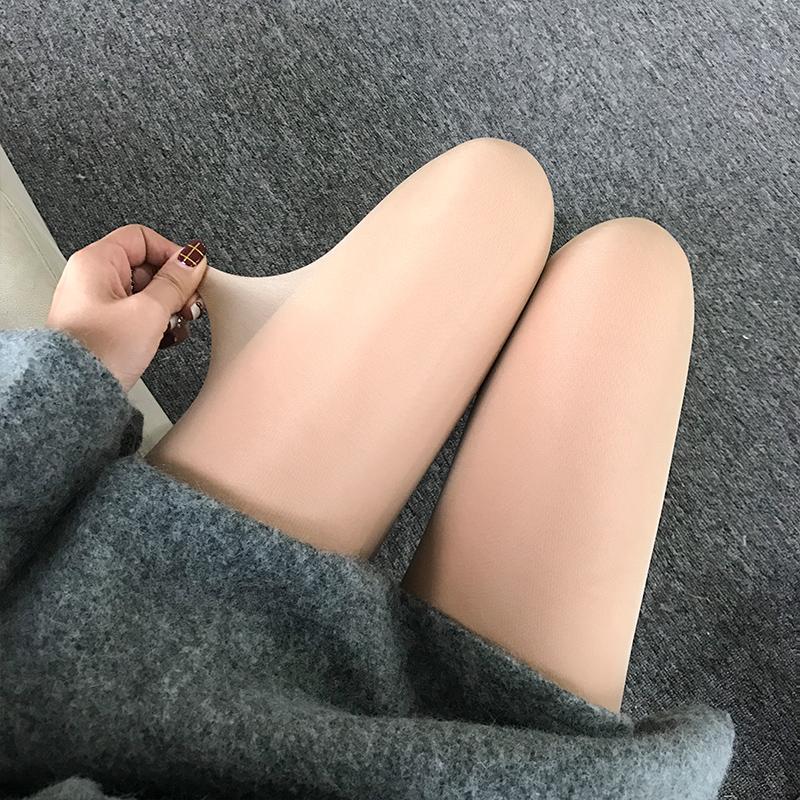小鹿要飞 光腿神器冬季加绒加厚打底裤保暖韩国袜裤秋冬显瘦外穿