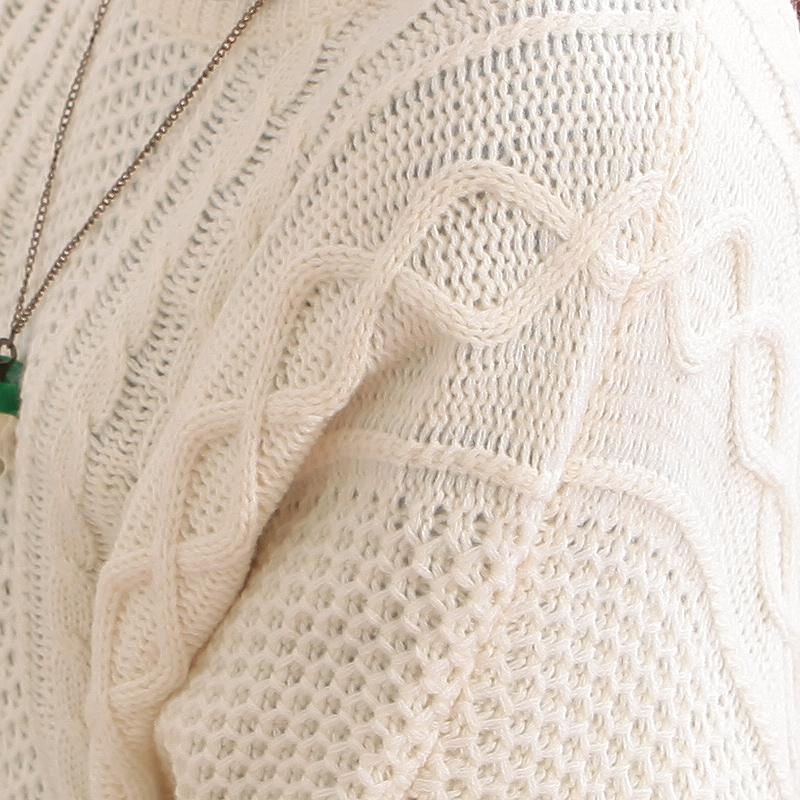 """Свитер женский Yeh Feng G265 2012 Разные натуральные волокна Осень 2012 Длинный рукав Рукав """"летучая мышь"""" О-вырез"""