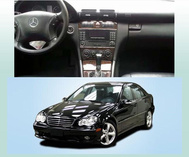 Авто тюнинг Crown sound digital  W203 DVD GPS