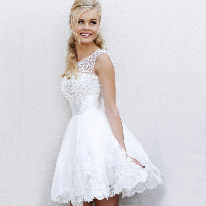 Новый 2015 тост невесты платье невесты платье Свадебные платья Свадебное платье на одно плечо невесты платья короткие